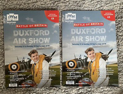 £5.75 • Buy Two Battle Of Britain Duxford Airshow Official Programmes 2019