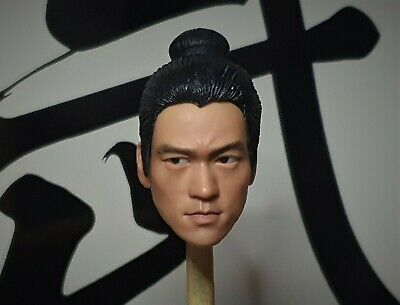 $59.90 • Buy Movable Eyes 1/6 Ancient Dress-up Bruce Lee Head Sculpt Muscle Body Enterbay