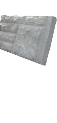 £13 • Buy Reinforced Concrete Gravel Boards Sizes 12inch And 6inch Rock/plain 07818 325060
