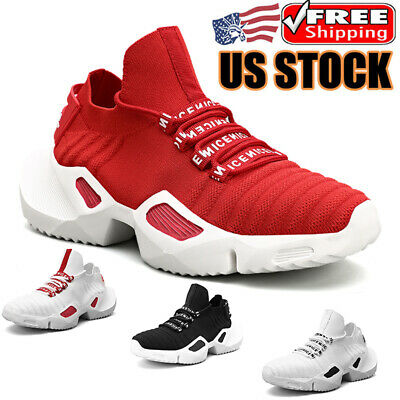 $28.99 • Buy Men's Athletic Fashion Running Shoes Sneakers Jogging Breathable Tennis Sports