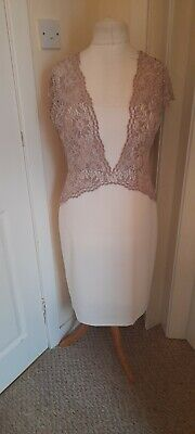 AU11.07 • Buy Ladies Special Occasion Dress Size 14 From GINA BACCONI