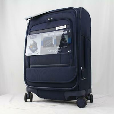 "View Details SAMSONITE INSIGNIS 21"" EXPANDABLE SPINNER CARRY ON SUITCASE NAVY BLUE • 129.00$"