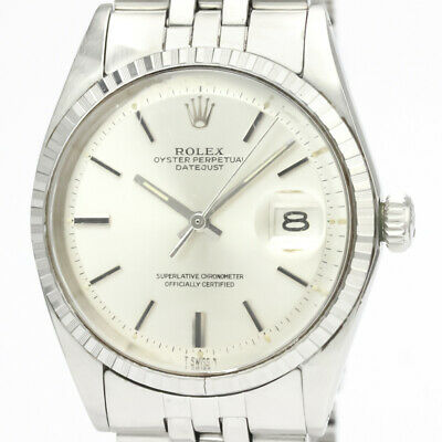 $ CDN5220.19 • Buy Vintage ROLEX Datejust 1603 Stainless Steel Automatic Mens Watch BF529328