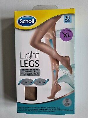 £7.65 • Buy Scholl Womens XL Light Legs Nude Compression Tights XL 20 Denier Extra Large