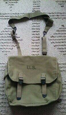 $200 • Buy Original WWII US Army M-1936 Officers Backpack Musette Bag 1943