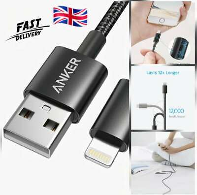 £9.99 • Buy Anker IPhone Charger Cable - Apple MFi Certified 6ft/1.8m Lightning Cable Nylon