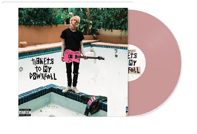 $52.99 • Buy Machine Gun Kelly – Tickets To My Downfall Exclusive Pink Colored Vinyl LP