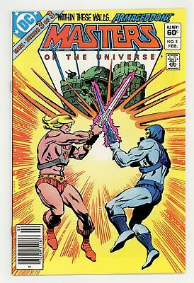$14 • Buy Masters Of The Universe #3 VF- 7.5 1983