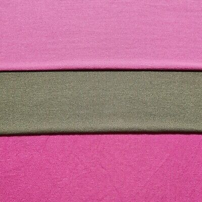 £4.72 • Buy Viscose Knit Jersey Fabric 47  Wide Sold By The Metre