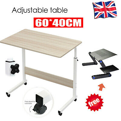 £17.88 • Buy Notebook Desk Adjustable Portable Laptop Table Trolley Sofa Bed Tray Computer UK