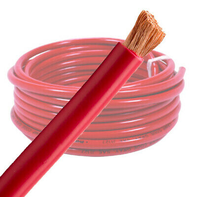 AU29.99 • Buy 6 B&S Single Core Red Battery Cable 5M Wire | 12V Auto Wiring | AWG Cable