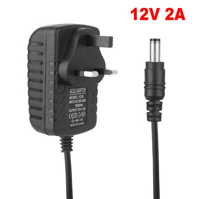 £5.31 • Buy 12V 2A UK Plug AC/DC Adapter Power Supply Charger For LED Strip CCTV Camera