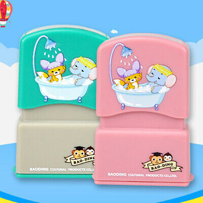£4.62 • Buy Baby Name Stamp  Children Name Seal Student Clothes Chapter Not Easy To Fad FF