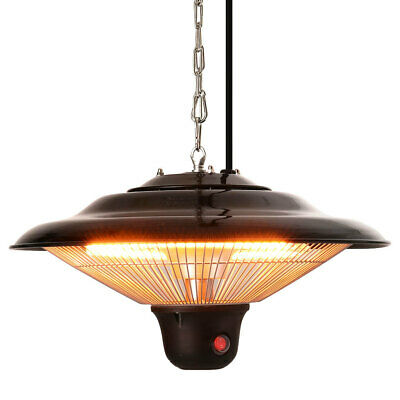 £73.95 • Buy Infrared Ceiling Hanging Mount Electric Patio Heater With 3 Level Outdoor/Indoor