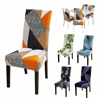 AU9.99 • Buy Stretch Dining Chair Covers Slipcover Spandex Wedding Cover 1 Pcs Removable