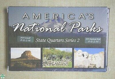 $ CDN1.51 • Buy 2019 National Park Quarters Series 2 - Lowell & American Memorial - P-d-s-w