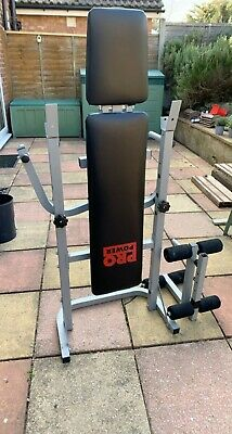 £65 • Buy Pro Power Sit Up Bench And Fly, Used But In Good Condition, Weights Not Included