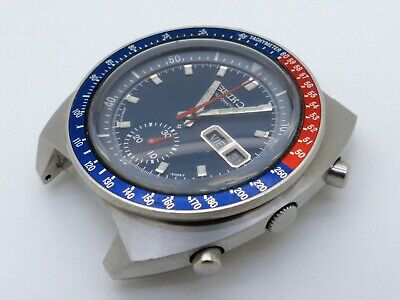 $ CDN146.54 • Buy SEIKO 6139-6002 Automatic Chronograph Pogue Cevert Needs Service