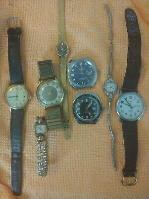 $ CDN99 • Buy Vintage Watch Lot Timex Carlto Tower Mortima Bulova Waltman. Lot Montres Vintage