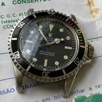 $ CDN858.53 • Buy Rolex Submariner 5512 / 5513 Pcg Vintage Watch 100% Genuine 1962 Gilt Era