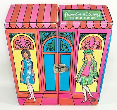 $ CDN18.13 • Buy HTF Vintage 1966 Francie & Casey Studio House Case Barbie Complete Mod Era