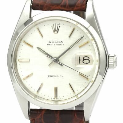 $ CDN2478.86 • Buy Vintage ROLEX Oyster Date Precision 6694 Steel Hand-winding Mens Watch BF528357