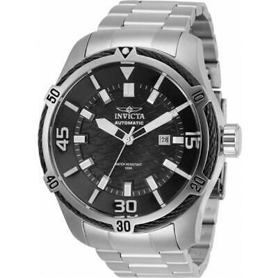$ CDN1.20 • Buy Invicta Bolt 29764 Men's Stainless Steel Automatic Black Dial/ Cable Bezel Watch