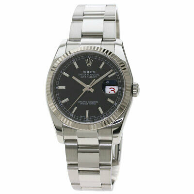 $ CDN8344.69 • Buy ROLEX Datejust Watches 116234 Stainless Steel/SSxK18 White Gold Mens