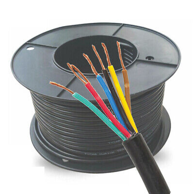 AU239.99 • Buy 7 Core Trailer Wire 3.0mm 100M | 12V Automotive, Caravan, Truck, Boat