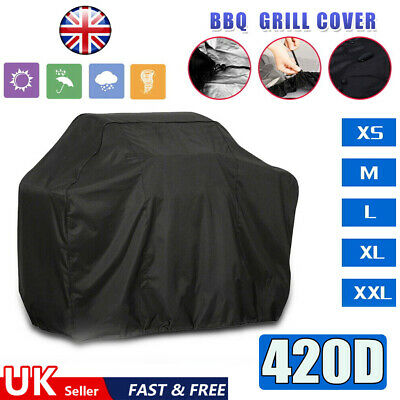 £11.49 • Buy Heavy Duty BBQ Cover Waterproof Barbecue Grill Protector Outdoor Covers 420D