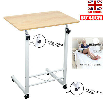 £17.88 • Buy Portable Adjustable Laptop Table Sofa Bed Tray Computer Notebook Desk Trolley UK
