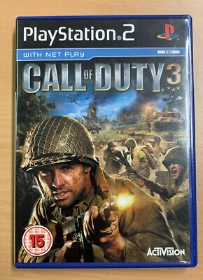 £13.29 • Buy Call Of Duty 3 Playstation 2 Game...UK PAL PS2-Excellent Condition/Complete...
