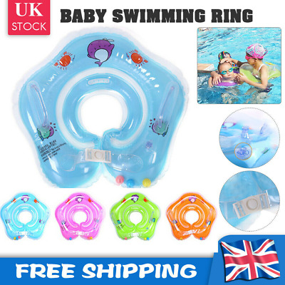£4.99 • Buy Baby Toy Infant Swim Swimming Head Float Inflatable Ring Bath Protection WaterUK