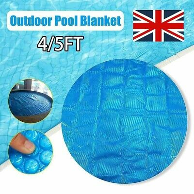 £13.58 • Buy Blue Hot Tub & Spa Solar Thermal Blanket Blue Pool Bubble Cover 4/5FT Round New