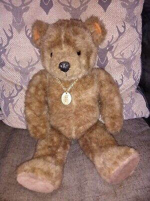 £28 • Buy Large Little Folk Vintage Jointed Teddy Bear Made In Devon England.