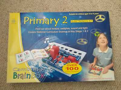 £25 • Buy Cambridge Brainbox Primary 2 Electronics Kit For Children Aged 8 To 11