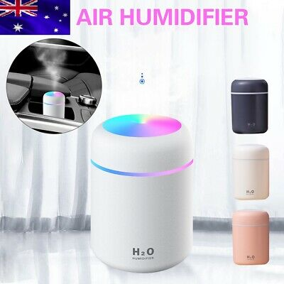 AU16.99 • Buy Portable Mini Humidifier Car Air Purifier Oil Aroma Diffuser Cool Mist USB AU