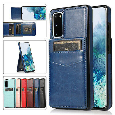 AU12.99 • Buy For Samsung S21 S20 FE Note20 Ultra S10 Plus Wallet Card Slot Holder Case Cover