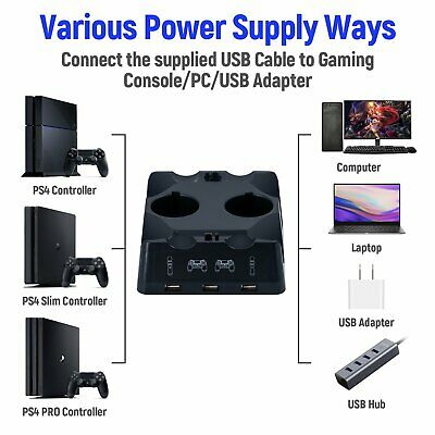 AU28.37 • Buy IPlay 4 In 1 Charging Dock Station For PS Move Motion And PS4 Controllers