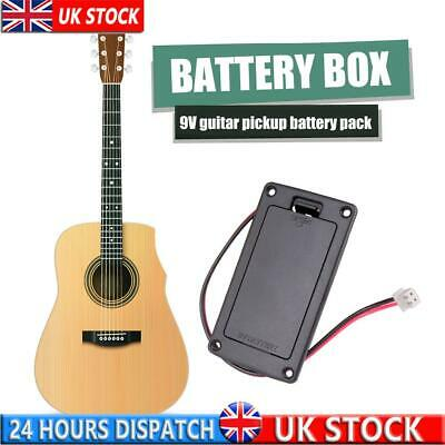 £5.91 • Buy 9V Pickup Battery Holder Case Box Compartment Cover Acoustic Guitar Replacement