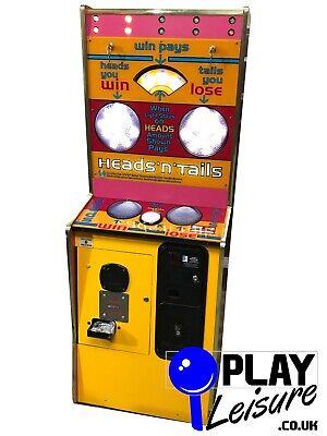 £395 • Buy Heads Or Tails Arcade Machine - Ready To Play - Games Room Amusement