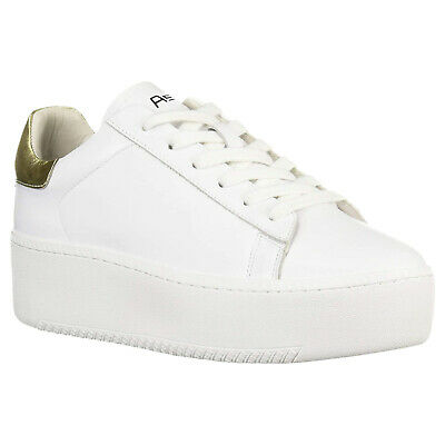£129.80 • Buy Ash Womens Trainers Cult 107829 Casual Platform Low-Top Lace-Up Leather