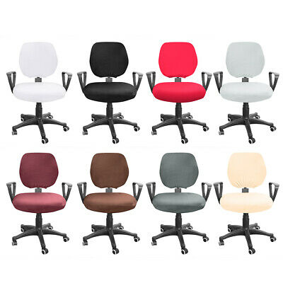 AU8.12 • Buy Spandex Stretch Computer Chair Cover Elastic Home Office Chairs Seat Case
