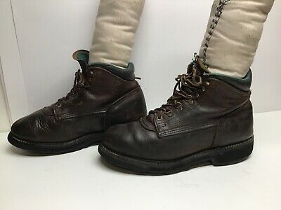 $ CDN26.68 • Buy Vtg Mens Carolina Work Brown Boots Size 10.5 D