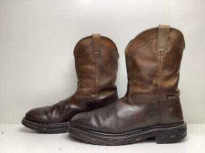 $ CDN26.68 • Buy Vtg Mens Rocky Cowboy Work Brown Boots Size 10.5 M