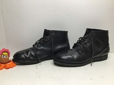 $ CDN26.68 • Buy Vtg Mens Pride Work Black Boots Size 12