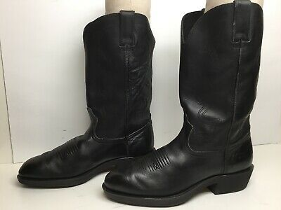 $ CDN26.68 • Buy Vtg Mens Durango Cowboy/work Black Boots Size 8 D