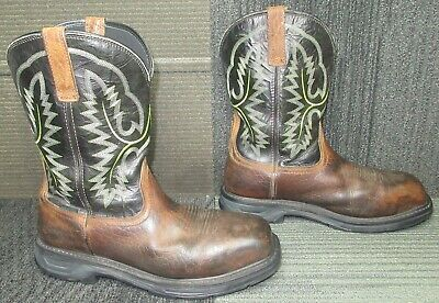 $ CDN32.76 • Buy Mens ARIAT Workhog XT Waterproof Carbon Toe Leather Work Boots Sz 12 EE