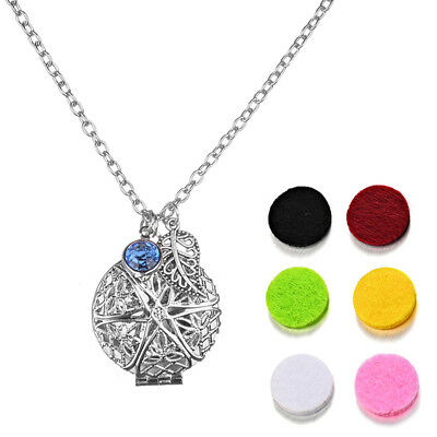 AU9.19 • Buy Dull 6Pad Locket Necklace Fragrance Aromatherapy Essential Oil Diffuser Penda Sa