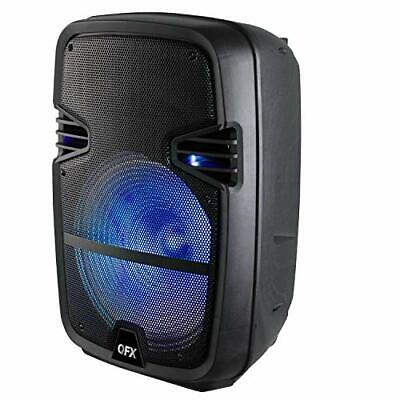 $ CDN238.92 • Buy QFX PBX-616 15  Bluetooth Rechargeable Speaker With LED Lights 2021 Model